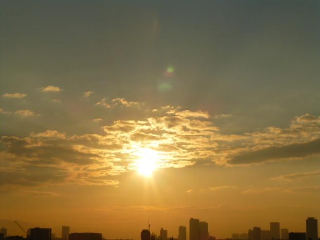大寒の朝@大阪
