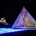 日本最大 高さ23mのピラミッドツリー