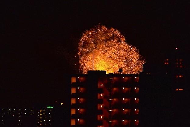 Photos: 夜空を焦がす花火