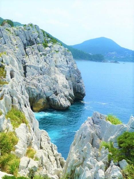 日本のエーゲ海と称される 白崎海洋公園