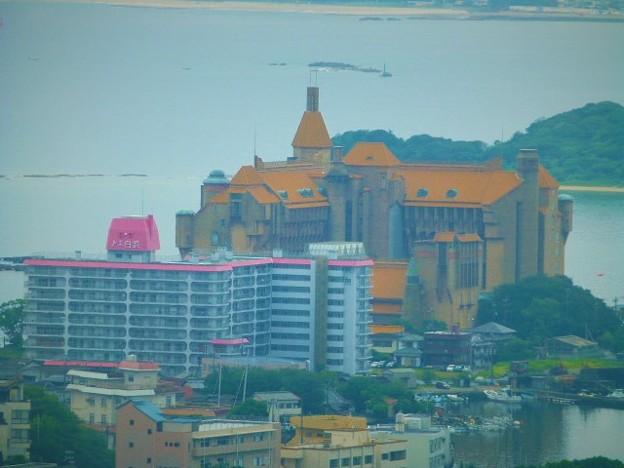 お城のようなホテル川久