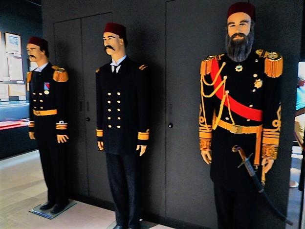 トルコ記念館 館内の展示