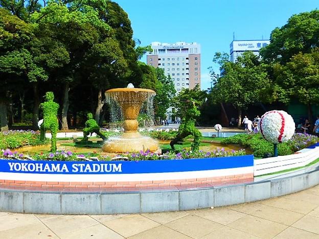 横浜公園噴水