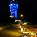 江の島シーキャンドルと灯籠