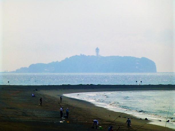 サザンビーチからの江ノ島
