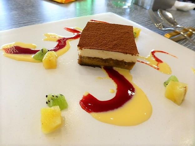 デザートのティラミス@Brasserie Gent