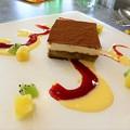 写真: デザートのティラミス@Brasserie Gent