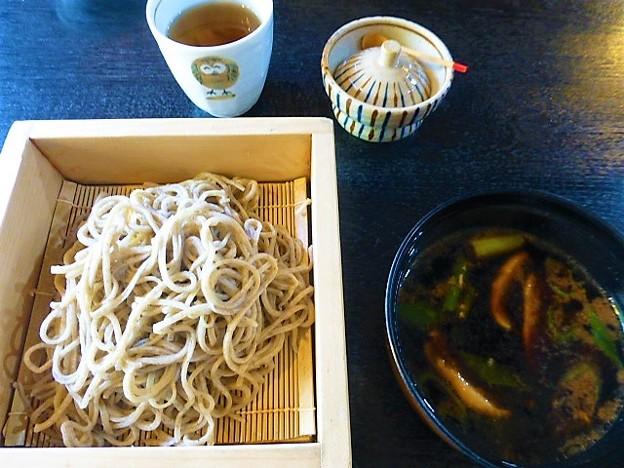 鴨そば 温つけ麺@八町茶屋