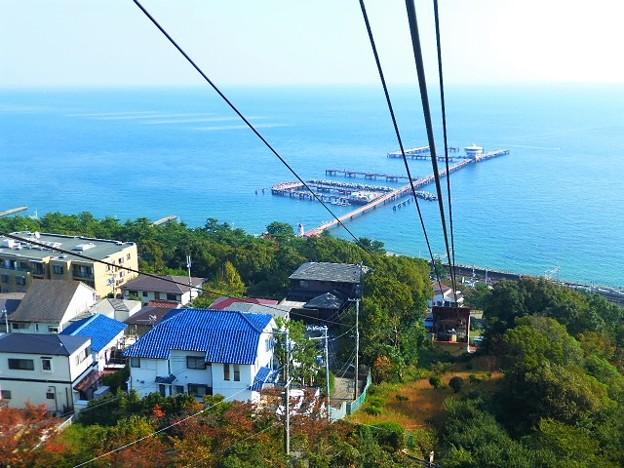 須磨浦ロープウェイからの景観