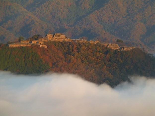 別名虎臥城と呼ばれる竹田城跡