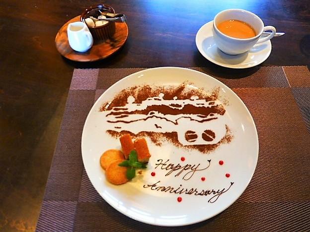 竹田城跡をデザインした小菓子