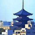 Photos: 新幹線車窓より 京都 東寺(教王護国寺)