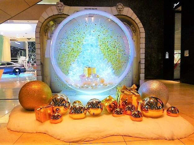 写真: ミッドランドスクエア   White Paris Christmas2017