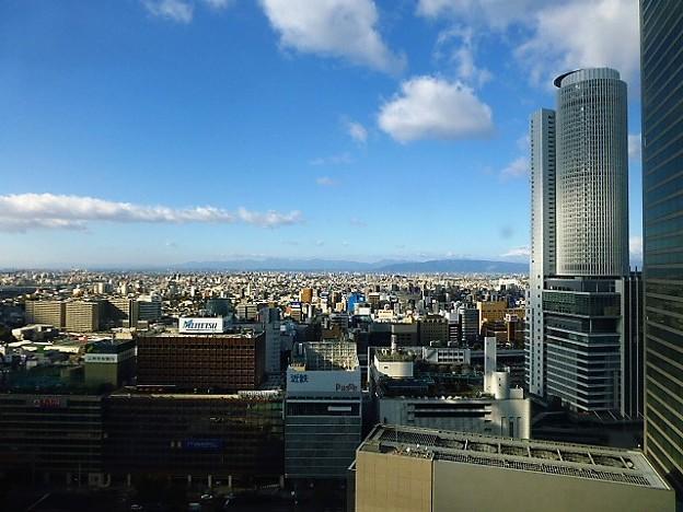 名古屋市内の街並み
