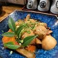 写真: 伍味酉  三河地鶏と根菜の筑前煮