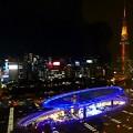 写真: 愛知県芸術劇場 展望回廊からの夜景