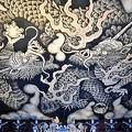 大迫力の法堂天井画 双龍図