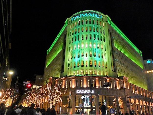 大丸神戸店のクリスマス ライトアップ