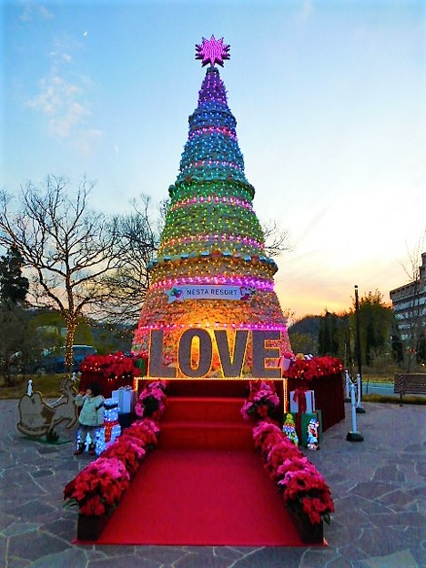 ネスタリゾート神戸 クリスマスツリー