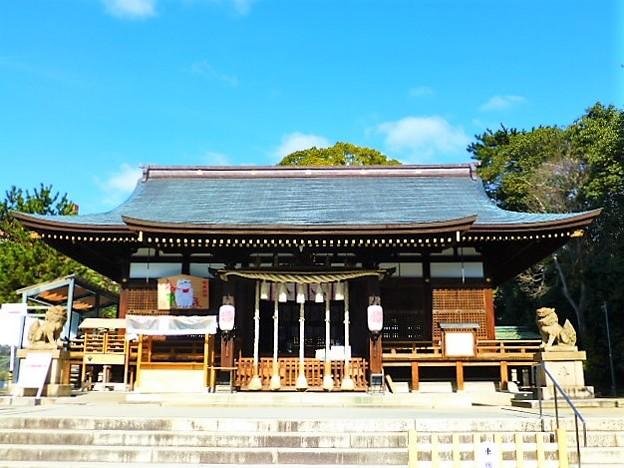 弓弦羽神社 拝殿