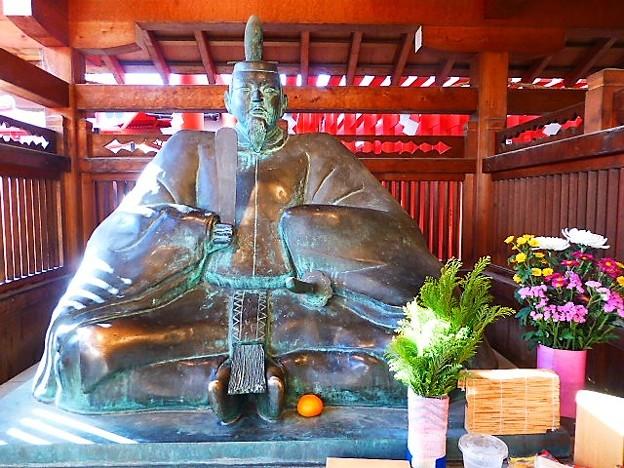 菅原道真公 銅像