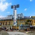 写真: 青空の阪神甲子園球場