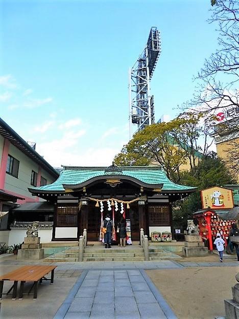 写真: 素盞嗚神社 社殿