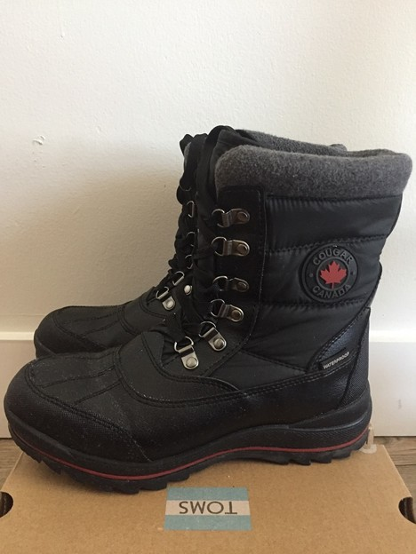 COUGAR WINTER BOOTS SIZE 7 $70
