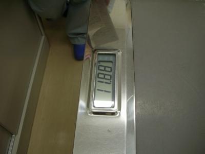 体重変わらず