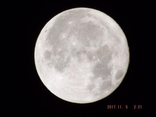2017/11/05(日)のお月様