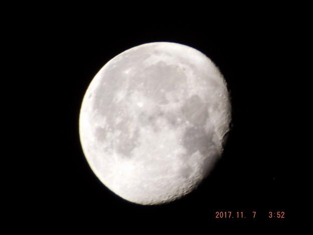 2017/11/07(火)のお月様