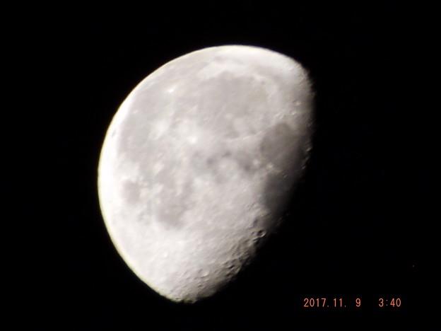 2017/11/09(木)のお月様