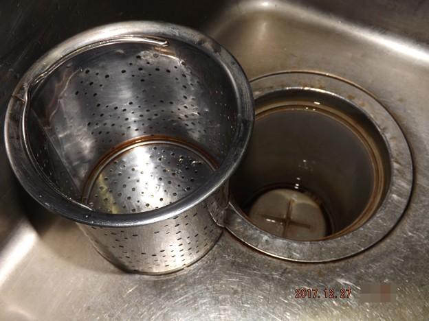 2017/12/27(水)・台所掃除