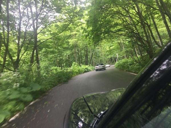 3台で青い森へツーリング