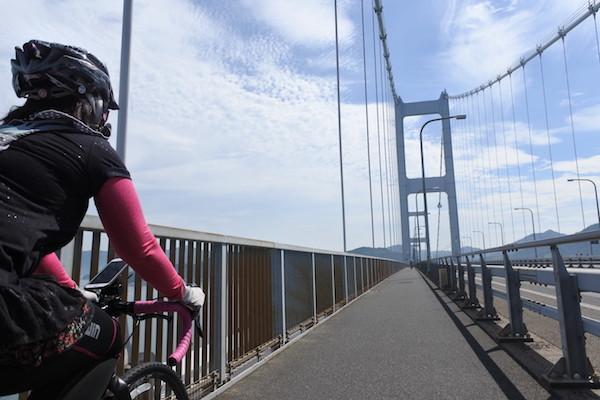 来島海峡大橋を気持ちよく走り抜ける!