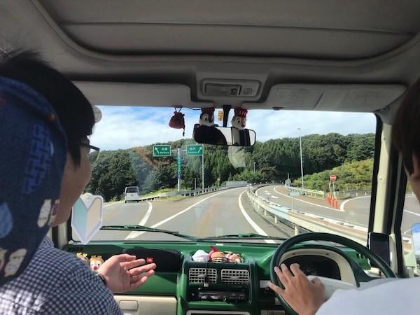 途中から高速道路を使用