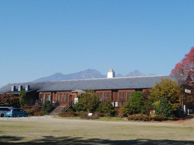 八ヶ岳と三代校舎