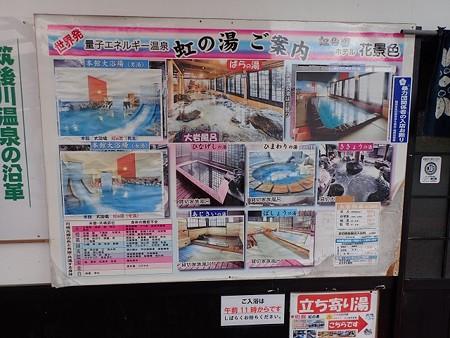 28 12 福岡 筑紫川温泉 虹の宿 花景色 2