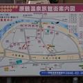 写真: 28 12 福岡 原鶴温泉 町並み 0
