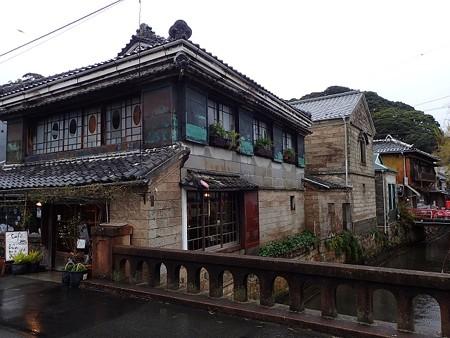 伊豆 下田の町並みと岩科学校