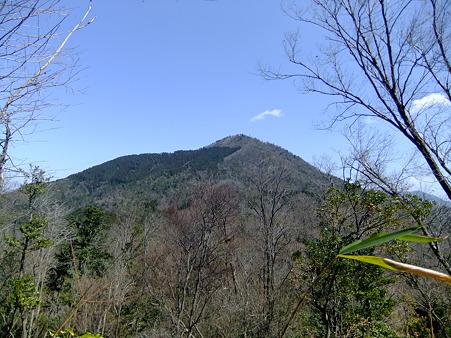 阿武山を望む