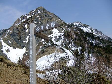 ギボシと権現岳