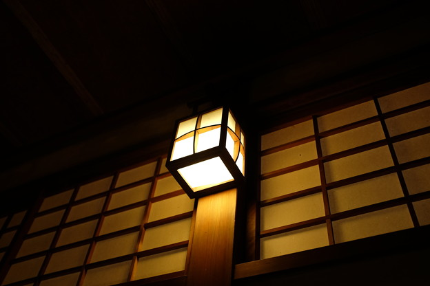 暖かい照明
