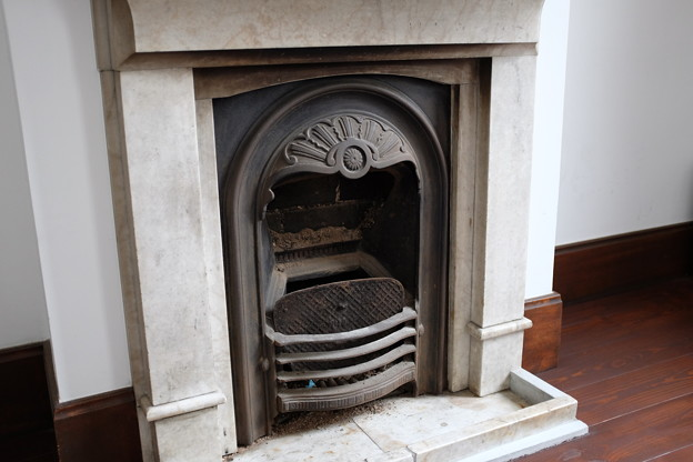 城西浪漫館の暖炉