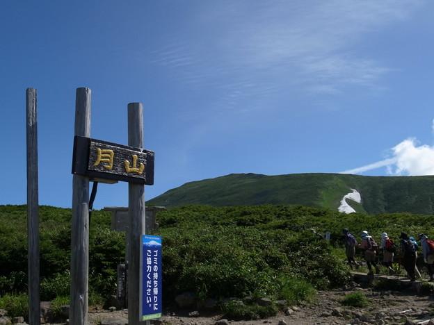 8月6日 月山に行ってきました