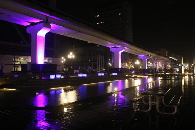 阪神淡路大震災の追悼のライトアップ