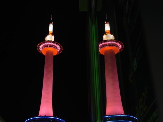 二本のタワー?