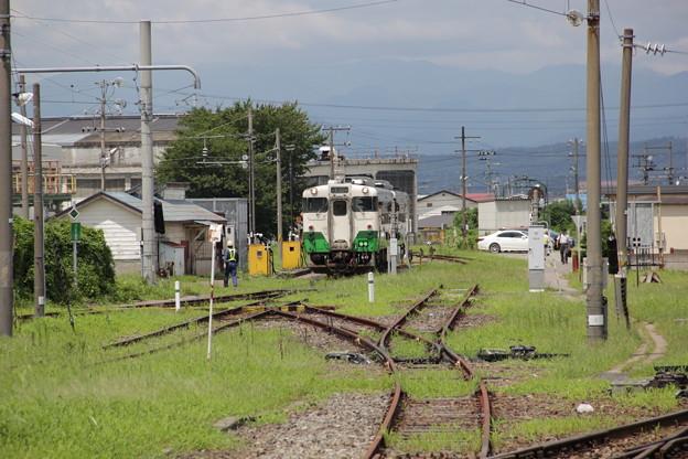 会津若松駅 キハ40 48