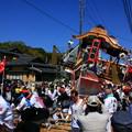 写真: 常陸大津の御船祭 大津港