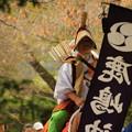 写真: 日立市 大久保鹿島神社の流鏑馬
